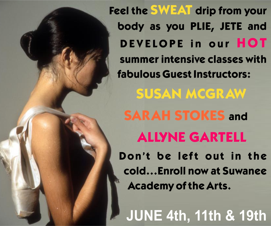 summer dance intensives Allyne Gartell Susan McGraw Sarah Stokes