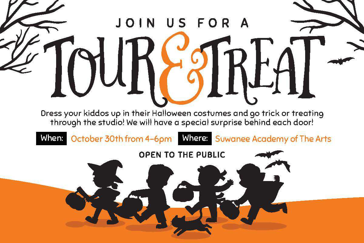 halloween trick or treat candy open house